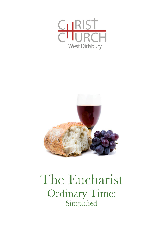 Liturgy Booklets